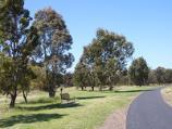 Parkville / Royal Park - Native Grassland and surroundings / Path along northern side of grassland