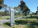 Parkville / Royal Park - ovals and golf course / Entrance to Ransford Oval, McAlister Oval and Ryder Oval from Park St