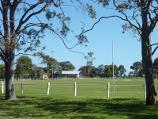 Parkville / Royal Park - ovals and golf course / Southerly view across Ransford Oval