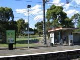 Parkville / Royal Park - Melbourne Zoo / Platform of Royal Park railway station