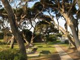 Point Lonsdale / Commercial centre and shops, Point Lonsdale Road / Park and picnic area opposite shops along Pt Lonsdale Rd
