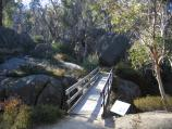 Porepunkah / Gorge Day Visitor Centre near Mount Buffalo Chalet / Crystal Brook bridge