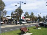 Portarlington / Shops and commercial centre, Newcombe Street / View west along Newcombe St towards Harding St