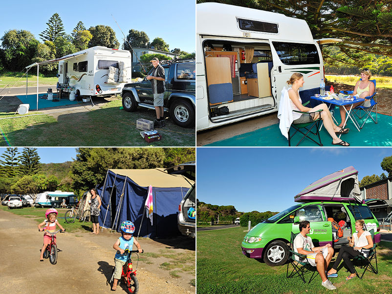 Port Campbell Holiday Park - Sites