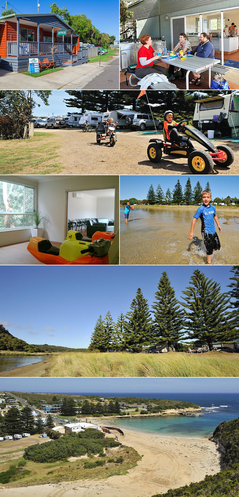 Port Campbell Holiday Park - Grounds and facilities