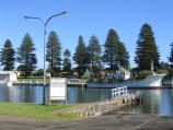 Port Fairy / Moyne River / Boat ramp, Griffiths St south of Rogers Pl