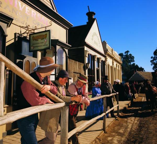 Goldfields highlights - Citizens of yesteryear at Sovereign Hill