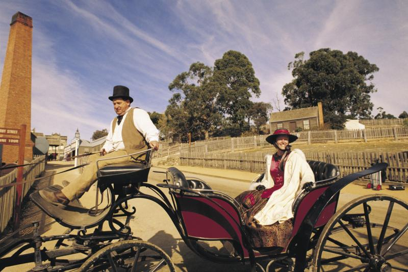 Goldfields highlights - Transport at Sovereign Hill