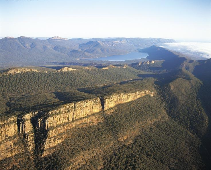 Grampians National Park - View over Grampians National Park