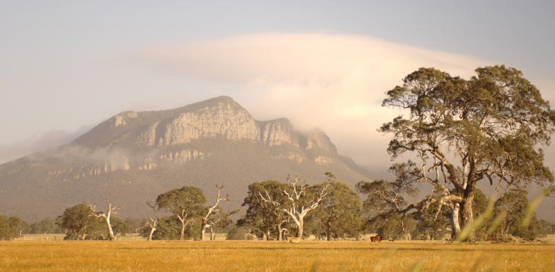 Grampians National Park - View of Grampians