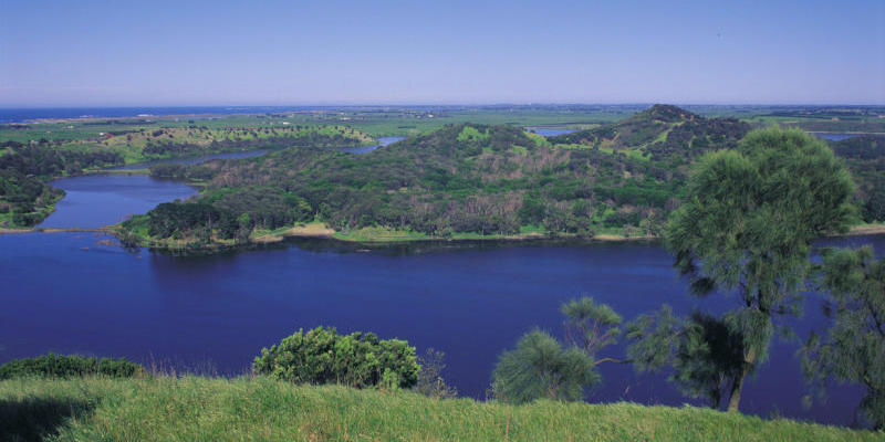 Beyond the Great Ocean Road - Tower Hill Lake, Koroit