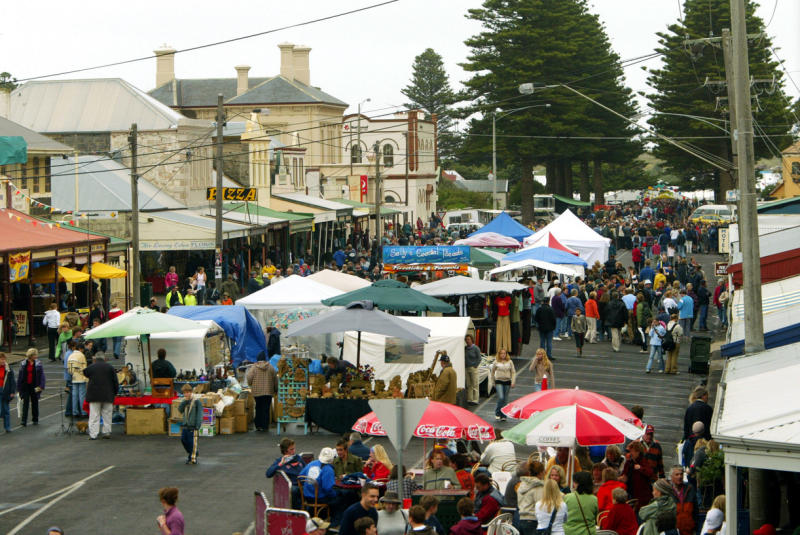 Beyond the Great Ocean Road - Port Fairy Folk Festival, Sackville Street (photo by Getty Images)