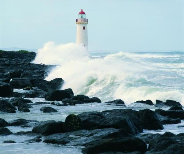 Beyond the Great Ocean Road - Lighthouse, Griffiths Island, Port Fairy