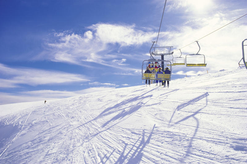 Alpine Region - Chair lifts at Mount Hotham