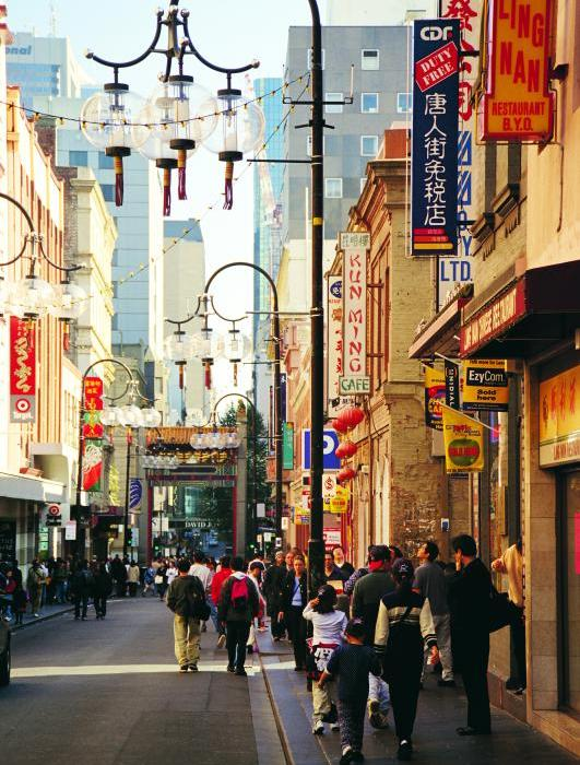Melbourne City - Chinatown
