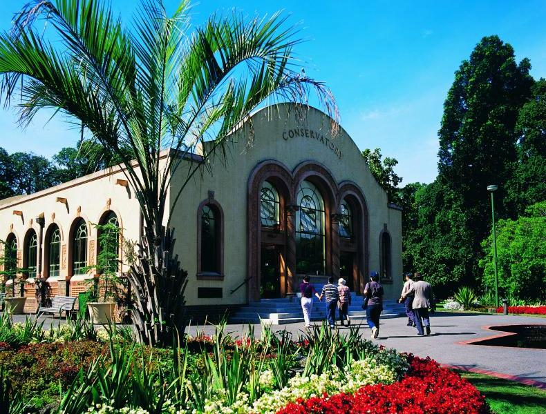 Melbourne City - The Conservatory, Fitzroy Gardens