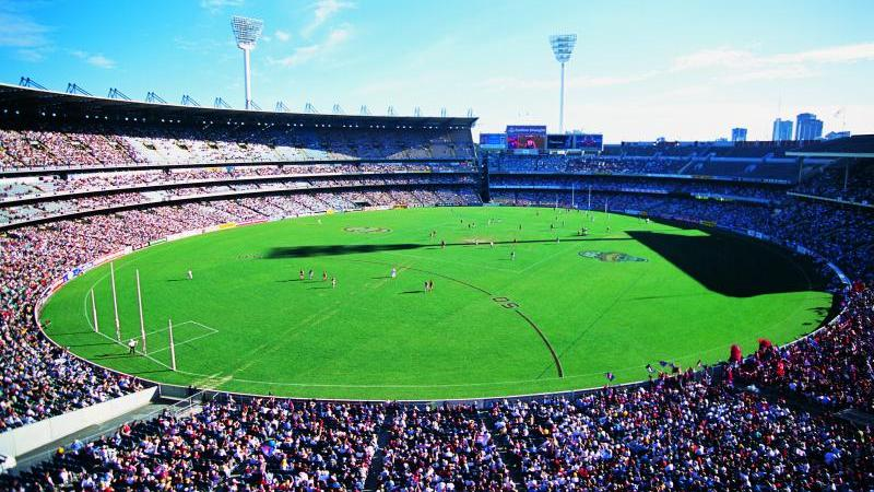 Melbourne City - Aussie rules football match at the MCG