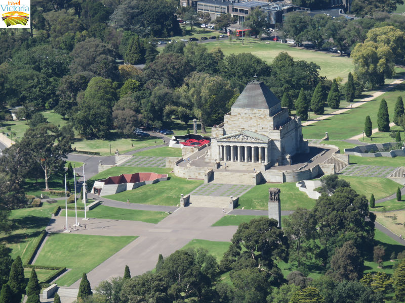 Eureka Skydeck, Southbank - Shrine of Remembrance