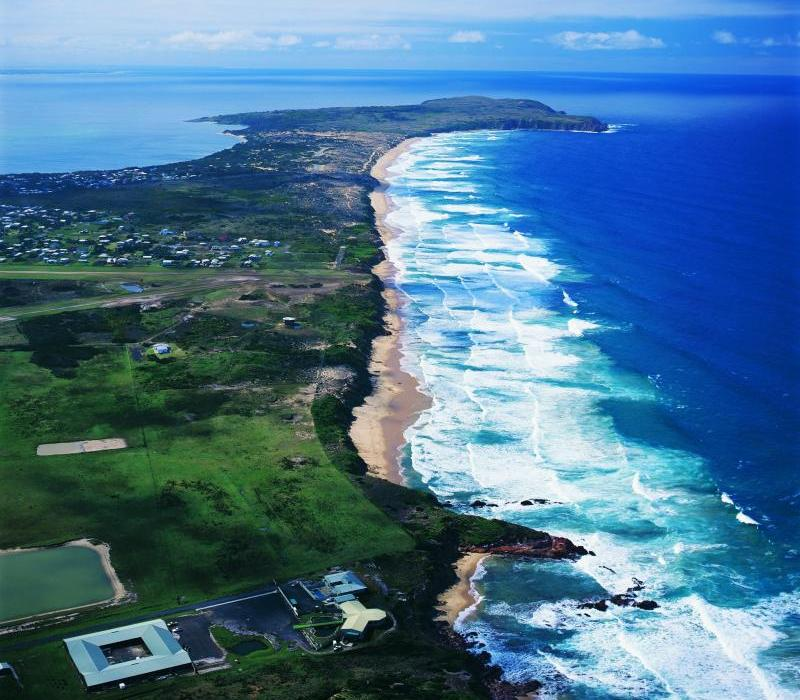 Phillip Island highlights - Aerial view of Cape Woolamai