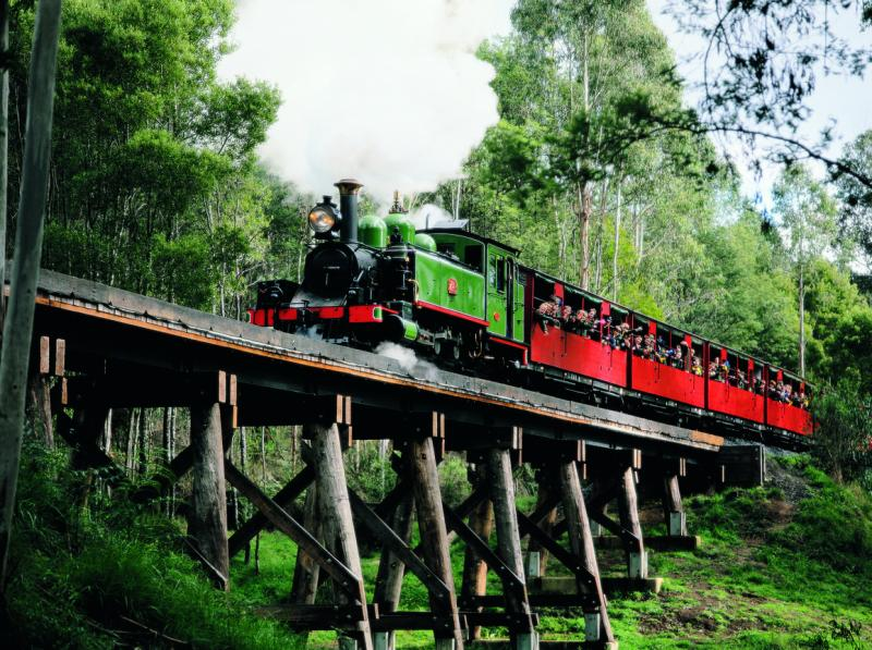 The Dandenongs - Puffing Billy