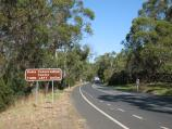 Rhyll / Koala Conservation Centre, Phillip Island Road / View south-east along Phillip Island Rd at Coghlin Rd