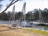 Robinvale / Weir and Lock 15, Murray River / View of lock