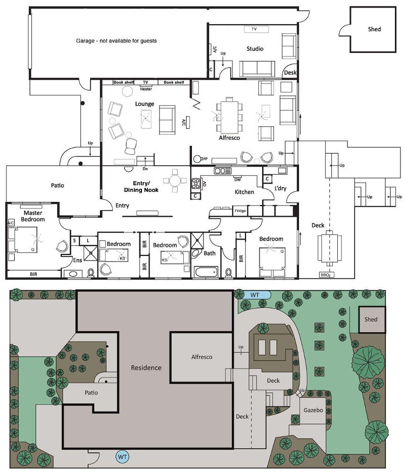 Blue Haven - Floor plan