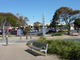 Rosebud / Shops and commercial centre, Point Nepean Road / View south across Pt Nepean Rd towards Rosebud Beach Shopping Centre