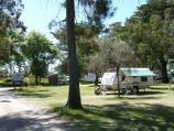 Rosebud / Beach and foreshore reserve opposite Capel Avenue, Capel Sound / Camping area in foreshore reserve