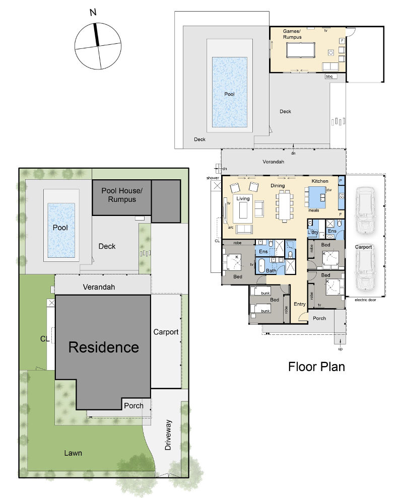 Glen Mor - Floor plan