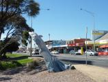 Rye / Commercial centre and shops, Point Nepean Road / Dolphin wood carving, view east along Point Nepean Rd between Napier St and Lyons St