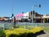 Rye / Commercial centre and shops, Point Nepean Road / War memorial and shops along southern side of Point Nepean Rd, just east of Napier St