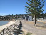Safety Beach / Beach, coast and foreshore / View north along coast towards Safety Beach Sailing Club