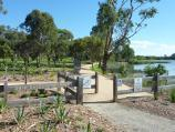 Sale / Botanic Gardens / Entrance to gardens, southern end of Elgin St fronting Lake Guthridge