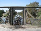 Sale / Historic Swing Bridge area, South Gippsland Highway south of Sale / Machinery on eastern side of swing bridge