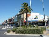 Sandringham / Shops and commercial centre, Bay Road, Station Street and Melrose Street / View west across Station St at Melrose St