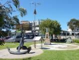 San Remo / Shops and commercial centre, Marine Parade / Fishermen memorial, Marine Pde opposite Westernport Hotel