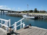 San Remo / San Remo Jetty / View south-east across jetty towards foreshore and bridge