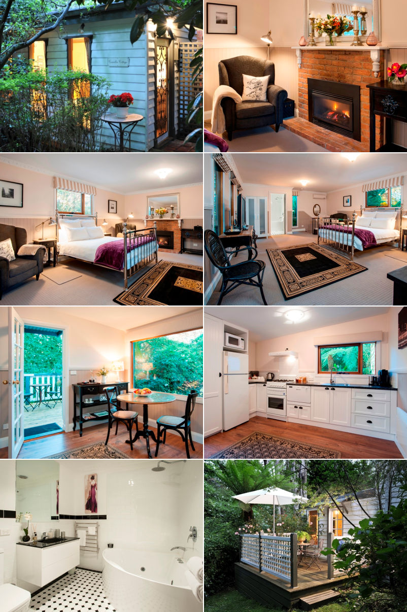 Clarendon Cottages - Camellia Cottage - one bedroom