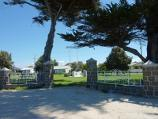 Seaspray / Seaspray Memorial Park and surroundings between Buckley Street and Bearup Street / Entrance gates to park, Bearup St