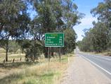Seymour / Around Seymour and outskirts / View south-east along Goulburn Valley Highway, south-east of Kobyboyn Rd