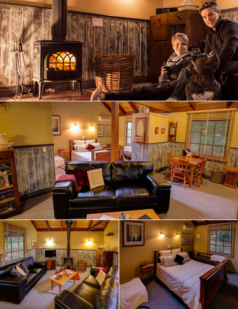 Trawool Cottages & Farmstay - The cottages