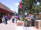 Shepparton / Commercial centre and shops / View south along Maude St Mall towards High St
