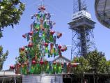 Shepparton / Commercial centre and shops / Christmas Tree, Maude St Mall at Stewart St