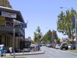 Shepparton / Commercial centre and shops / View east along Fryer St at Maude St