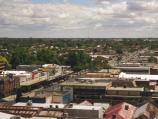 Shepparton / View from communications tower, Maude Street Mall / View north along Wyndham St