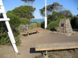 Sorrento / Point King, Port Phillip / Monument at top of Point King