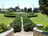 Sorrento / Sorrento Museum and Pioneer Memorial Gardens, Melbourne Road and Ocean Beach Road / Garden viewed from steps at museum