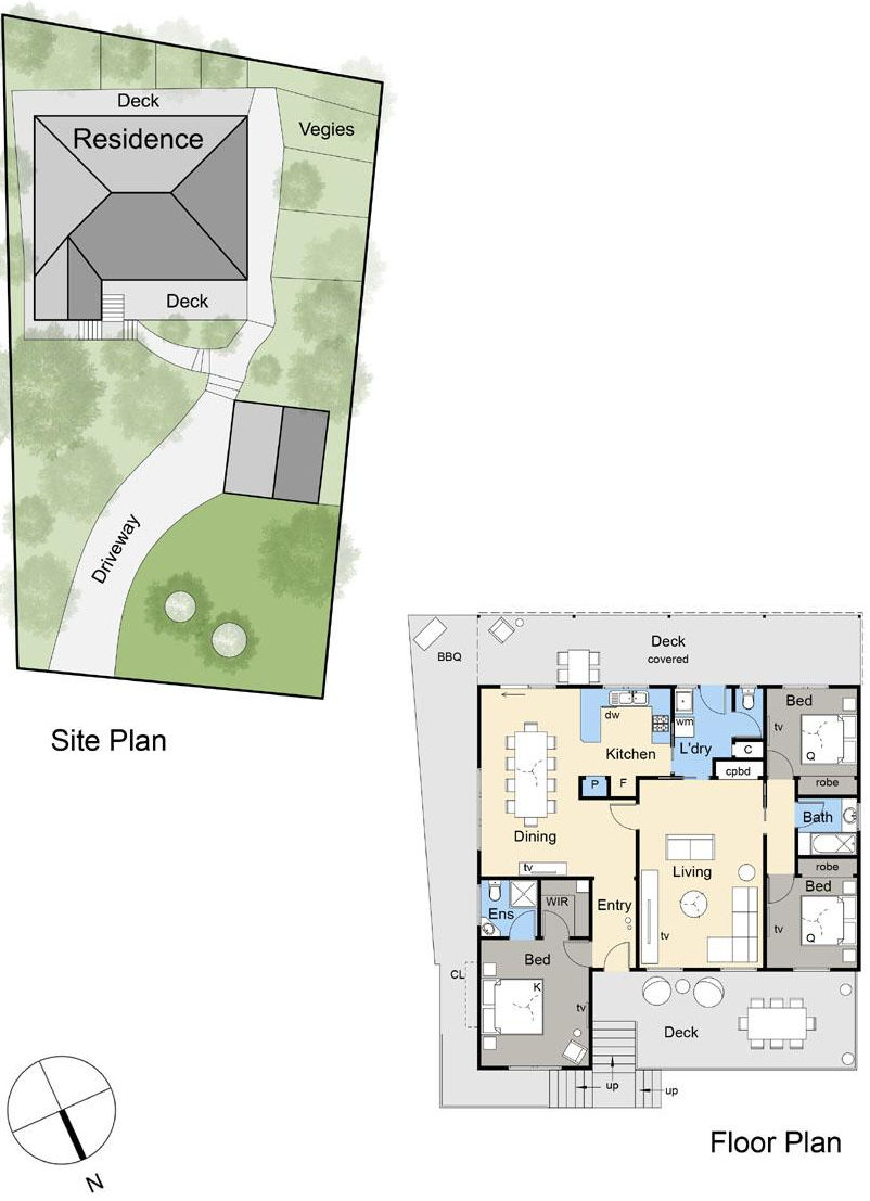 The Marbray - Floor plan