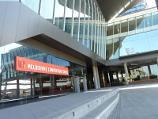 Southbank / South Wharf / Entrance to Melbourne Convention Centre
